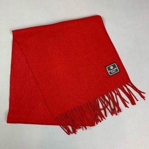Ermenegildo Zegna red scarf